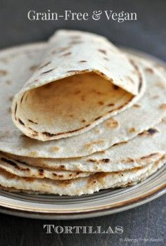 tortillas - may try just substituting GF flour