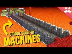 Today we go into Snapshot and make use of the new minecraft game mechanic of ice over soul soil. This minecraft nether update has brought a tonne of i. The New Minecraft, Minecraft Room, Minecraft Games, Minecraft Crafts, Minecraft Commands, Building Bridges, Game Mechanics, Minecraft Creations, Tonne