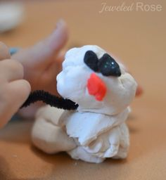 Snow clay good for ornaments too