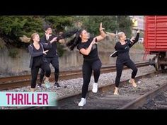 Michael Jackson - Thriller (Dance Fitness with Jessica) Dance Workout Videos, Dance Videos, Cardio Dance, Exercise Videos, Killer Workouts, Fun Workouts, Dance Workouts, Michael Jackson Thriller Dance, Zumba Routines