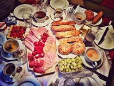 Breakfast in Austria