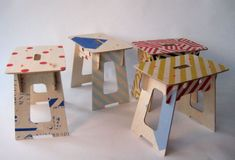 Ply stools for Paul Smith