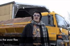 When Welsh council gritters turned to Elvis