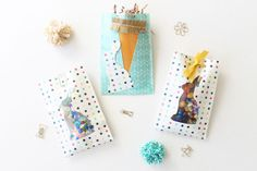 Create these DIY Easter treat bags easily with the We R Memory Keepers FUSE tool. You can customize these goodie bags for any holiday. Goodie Bags, Treat Bags, We R Memory Keepers, Shaker Cards, Easter Treats, American Crafts, For Your Party, Happy Easter, Easter Eggs