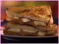 Hungry Girl's Grilled Graceland Special (8 Points+) ... basically a banana and peanut butter sandwich fixed like a grilled cheese. Could be delicious.