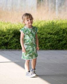 Een groene candy-leaves-dress...