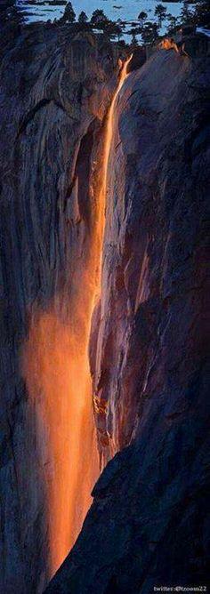 fire falls.
