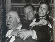 Unusuale Alfred Hitchcock, more HERE:    http://heysiralfredwtfareyoudoing.tumblr.com