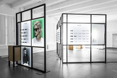 eyewear brand ace & tate launched a sleek pop-up store on the premises of hôtel droog.