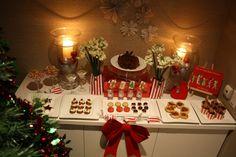 Christmas buffet. papereskimo.com.au