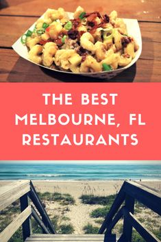 Space Guide Best Places to eat at in Melbourne, Florida. A comprehensive list of the restaurants you should visit on your vacation to the Space Coast. Miss Florida, Florida Food, Florida Vacation, Florida Travel, Florida Beaches, Cocoa Beach Florida Restaurants, Florida Trips, Orlando Vacation, Florida Girl