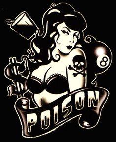 Lucky 13   Lucky 13 Poison T-Shirt