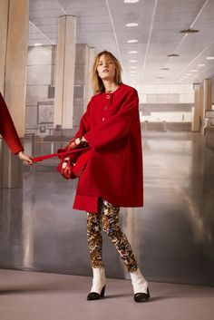 MARIQUE SCHIMMEL, SAM ROLLINSON AND MARIA LOKS FOR KENZO PRE-FALL 2013