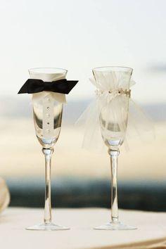 Champagne glasses :)