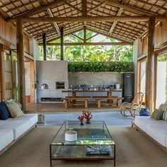 Village House Design, Village Houses, Outdoor Projects, Outdoor Decor, Philippine Houses, Rest House, New House Plans, Cabana, Outdoor Structures