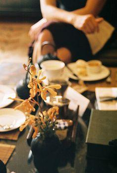 teatime captured beautifully.
