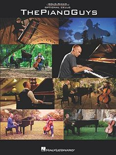 The Piano Guys - Solo Piano Sheet music with Optional Cello.  Includes favorites like All of Me, A Thousand Years and others.