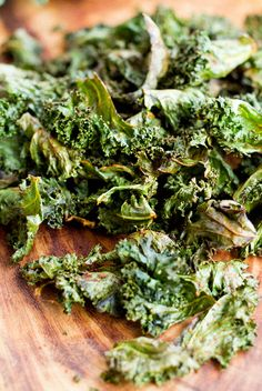Spicy Kale Chips recipe #paleo