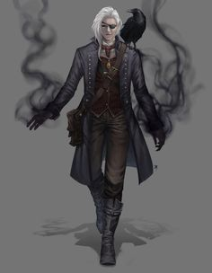 Human Warlock - Commission Work by HIIDRAstudio on DeviantArt Dungeons And Dragons Characters, Dnd Characters, Fantasy Characters, Female Characters, Dungeons And Dragons Ranger, Fantasy Character Design, Character Design Inspiration, Character Concept, Character Art