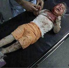 اسشهد و هو خائف ... هنا غزة
