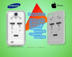 Sad Ghast Face Case for iPhone 4/4S iPhone 5/5S/5C by KuntiDesign, $16.00