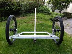 cargo bike plans | little bit about the trailer...