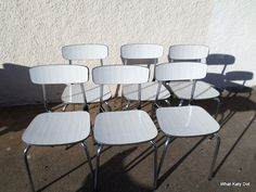 GDUKStyle.com Retro Feature: 1950s Formica Chairs £20 each from www.whatkatydid.biz.