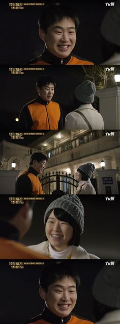 "OSEN - '응팔' 안재홍, 교정기 낀 이민지에 ""활짝 웃는 게 예뻐"""
