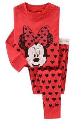 free shipping 2014 new 100% cotton Hello kitty baby pajamas children minnie  mouse pyjamas kids baby clothing 2 pcs set  5.38 306c7f7d5