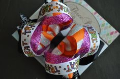 Trick or Treat Boutique Bow by threepeasboutique on Etsy, $6.00