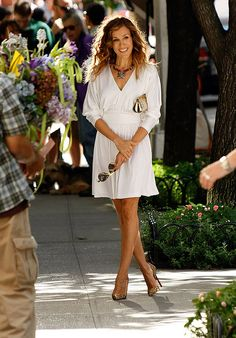 SJP. sex and the city. her clothes. i just love everything!
