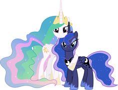 Princesses Celestia and Luna