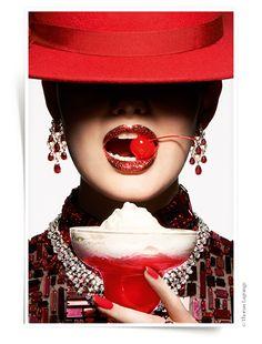 Rubis rouge bagues haute joaillerie