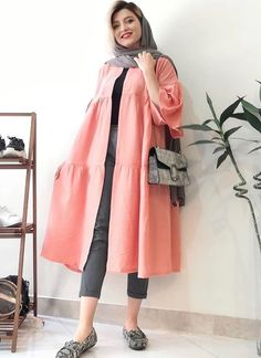 Pakistani Fashion Casual, Modern Hijab Fashion, Iranian Women Fashion, Abaya Fashion, Muslim Fashion, Stylish Dresses For Girls, Stylish Clothes For Women, Fashion Drawing Dresses, Women's Fashion Dresses