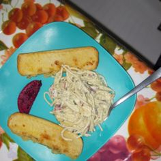 A meal Marina made when we moved in September of 2011... The fruit is dragon fruit. :)
