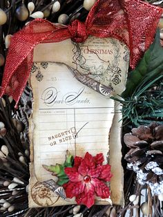 Swirlydoos Scrapbook Kit Club: 25 Tags of Christmas - TAG #20
