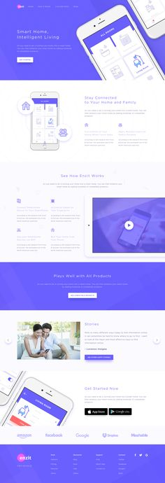 Smart Home Landing Page