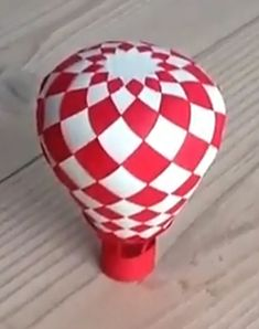paper balloon (including pattern and you tube instruction video!)