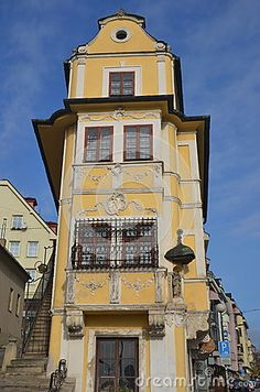 Built in 1760, 1765 the Good Shepherd's house in Bratislava is now a museum of clocks.The building is considered to be one of the most beautiful Rococo-style buildings in Central Europe