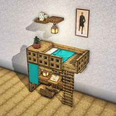 Minecraft Mansion, Easy Minecraft Houses, Minecraft House Tutorials, Minecraft Room, Minecraft House Designs, Amazing Minecraft, Minecraft Tutorial, Minecraft Blueprints, Minecraft Crafts