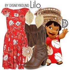 Would be adorable to wear to the Polynesian Resort's Ohana Restaurant (except with sandals, not boots).
