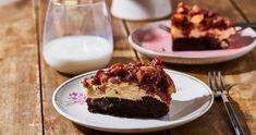 Almás-fahéjas brownie sajttorta recept   Street Kitchen Doterra, Cheesecake, Muffin, Pie, Sweets, Food, Cakes, Torte, Cake