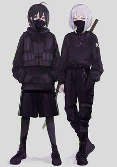 anime characters kusumint BAMI Mission to 2019 Cool Anime Girl, Kawaii Anime Girl, Anime Art Girl, Anime Guys, Anime Krieger, Anime Siblings, Fan Art Anime, Estilo Anime, Animes Wallpapers