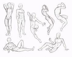 Copy's and Studies: Kate-FoX male body's by WonderingMind23 on DeviantArt