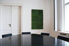 Ein Wandbild aus Moos wertet jeden Meeting-Raum auf! - Foto von DESIGNFUTTER