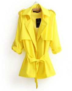 US Women/'s Fashion Color Patchwork Long Sleeves Turn Down Collar Casual Coat
