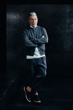 Cadillac Capsule Collection. Curated by Nick Wooster for Gilt.  menswear mnswr mens style mens fashion fashion style campaign lookbook nickwooster