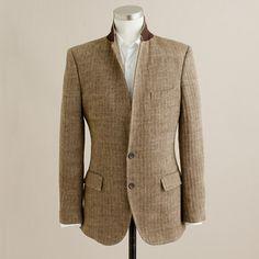 $249, J.Crew Ludlow Sportcoat In Herringbone Italian Linen. Sold by J.Crew. Click for more info: https://lookastic.com/men/shop_items/8092/redirect