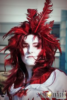 Kuja from Final Fantasy IX. I don't think mine can look this incredible, but it's something to aim for.