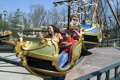 Racing Regatta in The Grand Exposition at Silver Dollar City! #ride #coaster